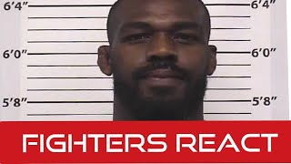 Jon Jones Arrested for DWI and Gun Charge: Fighters React