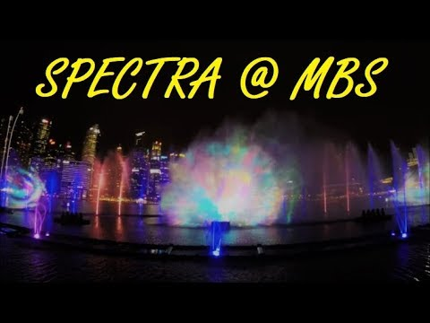 Spectra - Front Row View | MBS Light & Water Show | Debut Show on 2 Jun 2017 [Full Show, 4K]