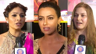 Bollywood Actors At Colors Marathi Gudi Padwa Party | Tanisha, Sonali Raut, Mahesh Manjrekar