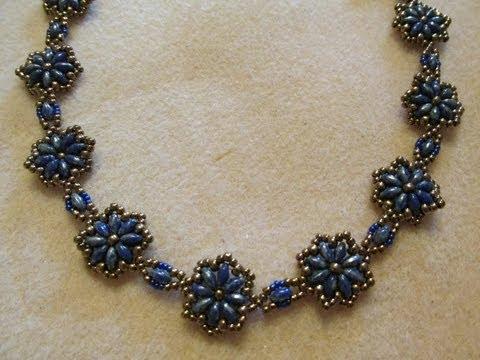 DIY: Pearl beaded collar / Воротник из жемчужных бусин своими руками