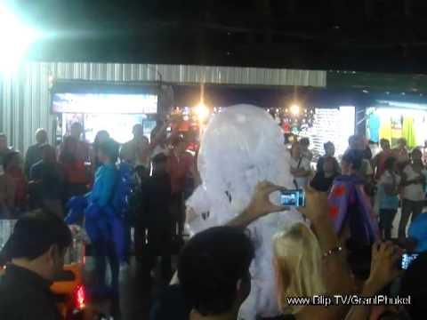 Phuket Carnival stunt show & parade & interviews