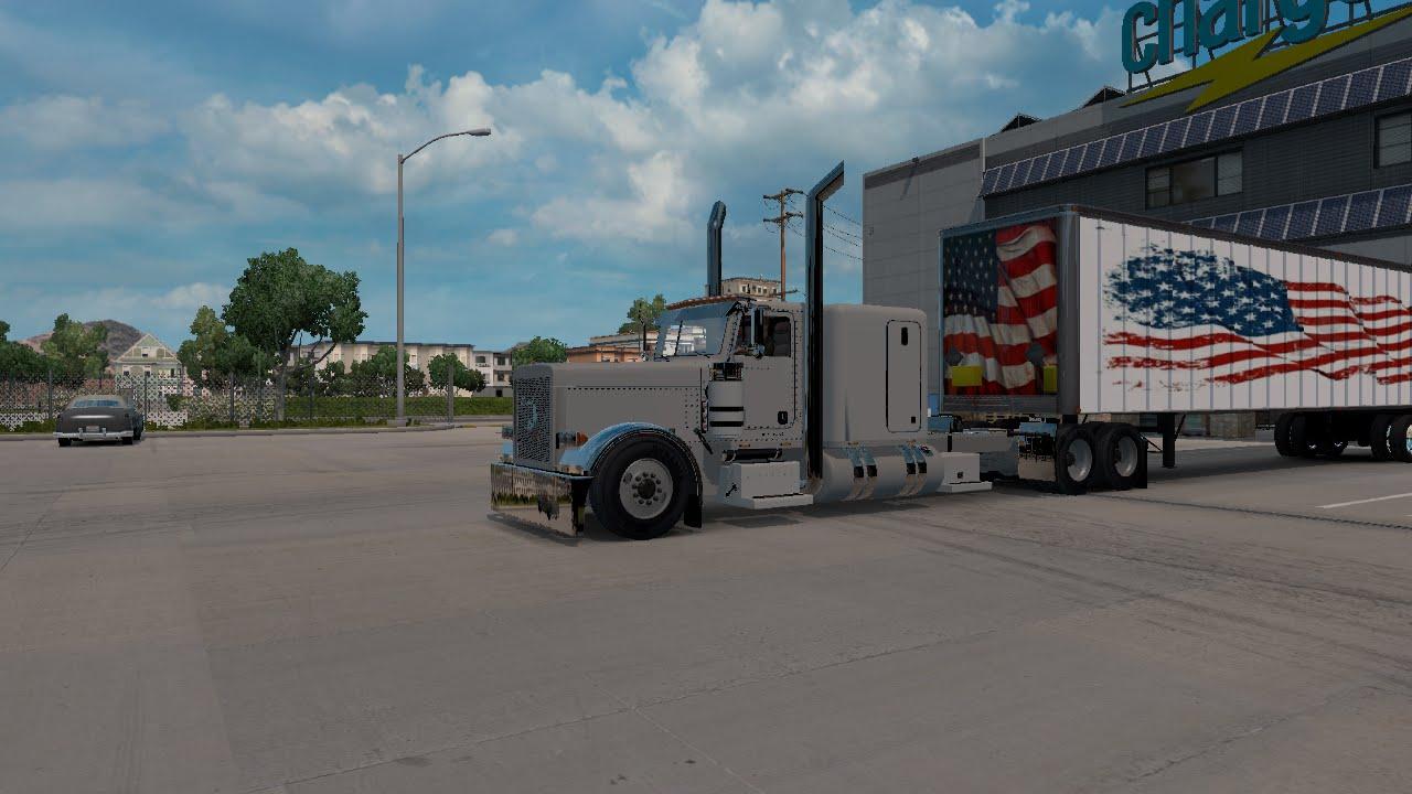 American Truck Simulator: peterbilt 389 Cummins N14 by migel jr