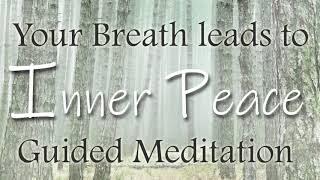 A Powerful Inner Peace Breath Meditation ~ Guided 10 Minutes