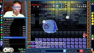 Super Mario World Blindfolded in 23:14