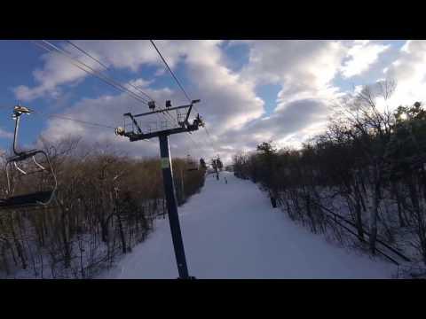 SNOWBOARDING AT WACHUSETT