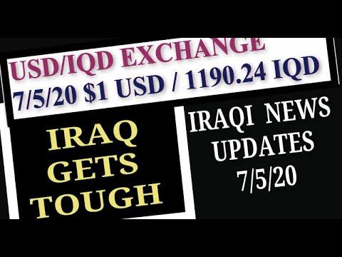 Iraqi News Updates Turkey Iraq Relationship USD IQD Exchange Rate Tax Trivia
