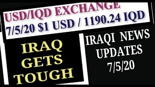 Iraqi News Updates Turkey Iraq Relationship USD IQD Exchange Rate Tax Trivia