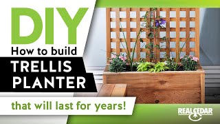 In todays video we go over the construction process for this gorgeous vertical garden! For Project Plans and more visit realcedar.
