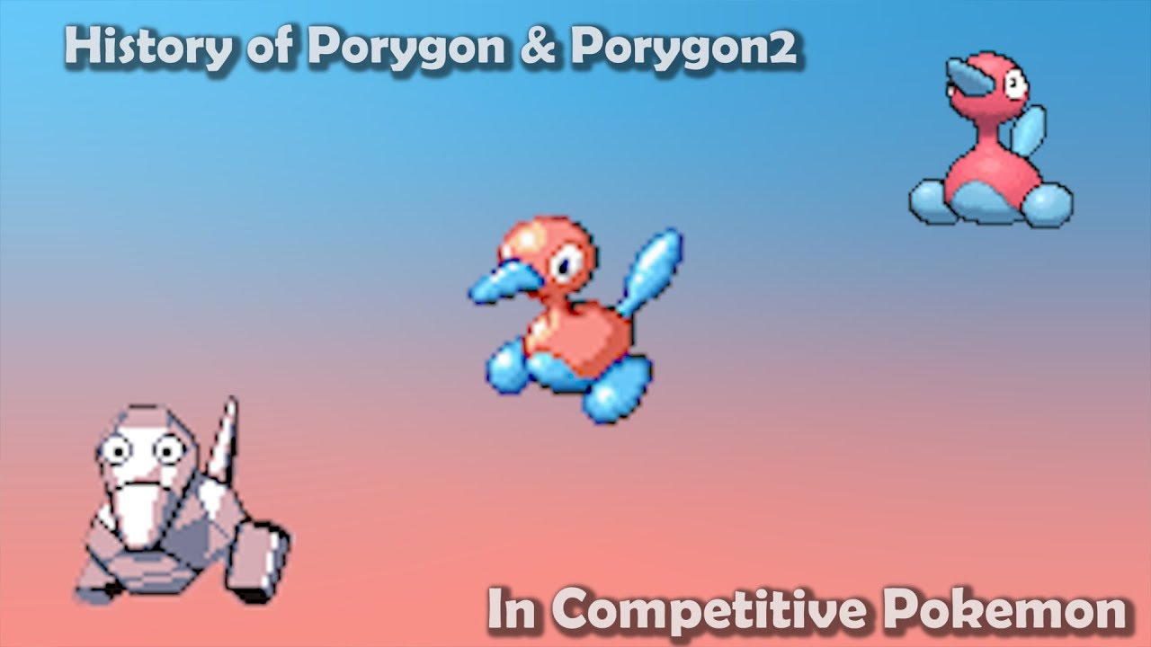how good were porygon amp porygon2 actually history of