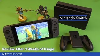 Nintendo Switch Console Review After 3 Weeks of Usage