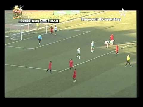Mozambique 2-1 Maroc  Deuxiemme But