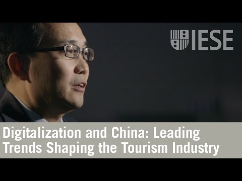 Digitalization and China: Leading Trends Shaping the Tourism Industry