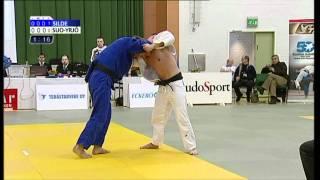 Miko Silde - Ville Suo-Yrjö SM-judon 90 kg:n pronssiottelussa 2.4.2011