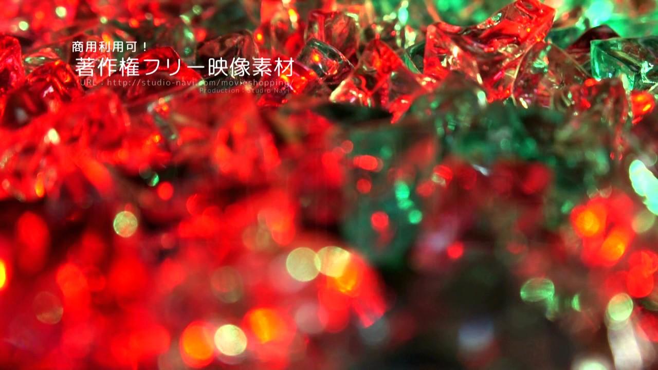 著作権フリー動画素材商用利用可能クリスマス背景素材003 Youtube