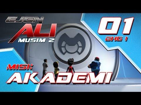 Ejen Ali - Musim 2 (EP01) - Misi : Akademi [Bahagian 1]