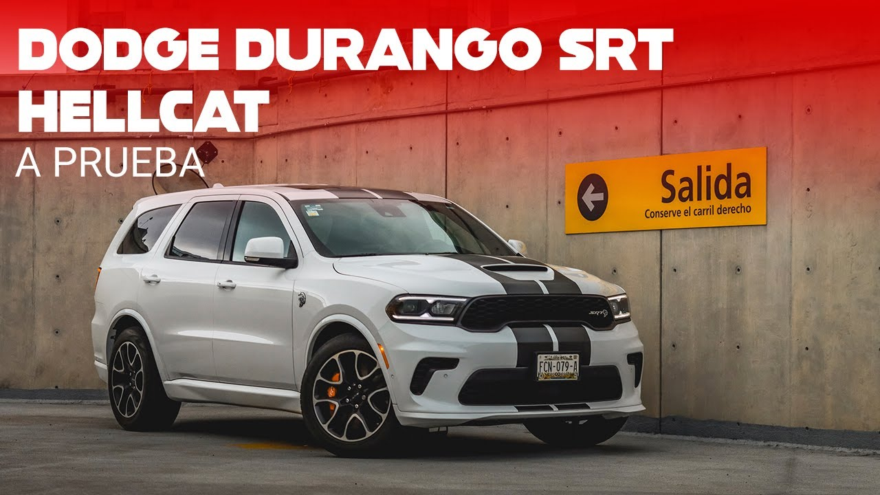 Dodge Durango SRT Hellcat, a prueba: 710 HP de puro poder americano, en tamaño familiar