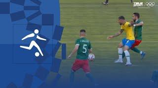 Мексика Бразилия Футбол муж 1 2 финала Олимпиада 2020 Видео обзор