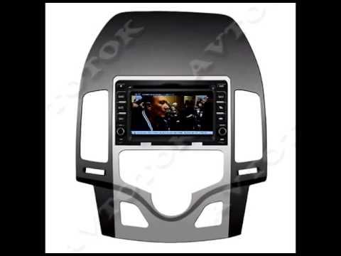 m043 Штатная магнитола Hyundai i30 Auto Air Con 2007 2011 Winca s160 Android 4.4.4.