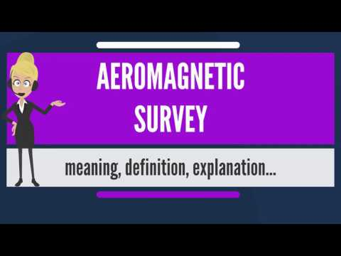 What is AEROMAGNETIC SURVEY? What does AEROMAGNETIC SURVEY mean? AEROMAGNETIC SURVEY meaning