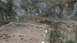 Live  Cloud Burst in Uttarakhand