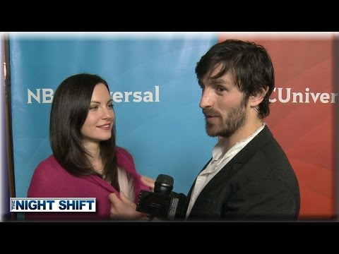 Jill Flint & Eoin Macken  Sexual Tension  The Night Shift