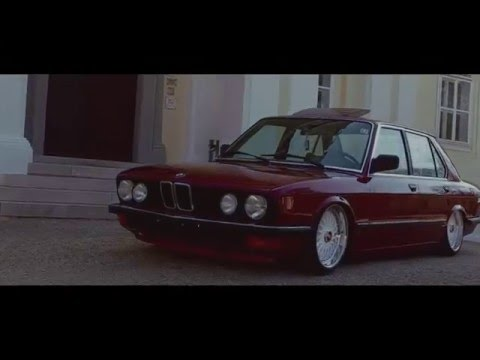 bagged BMW E28 520i 1983