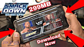 WWE Smackdown Here Comes the Pain | 299 MB Only | Ps2 Game | 2018 (HINDI)