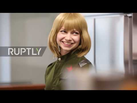 Japan: Cosplayers dressed as Soviet soldiers open up 'Russian' cafe in Tokyo