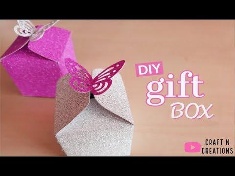 DIY Butterfly Gift Box