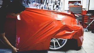 FENDER VINYL WRAP   BMW E90