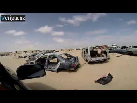 hitchhiking in Africa Mauritania