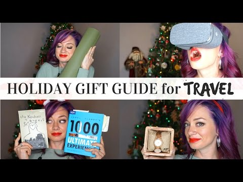 Ultimate Holiday Gift Guide for Travel + HUGE GIVEAWAYS