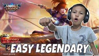WALAUPUN HP NGELAG MAIN FANNY TETEP DAPAT LEGENDARY & MVP DONG! - MOBILE LEGENDS INDONESIA