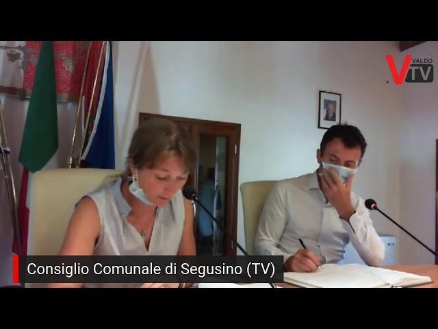 Consiglio Comunale di Segusino (TV) del 25/08/2020