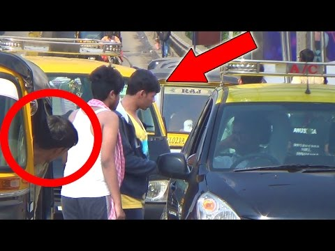 Poor Vs Rich Taxi Social Experiment n Prank in India