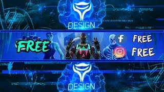 FREE banner Fortnite | Photoshop CC 2019