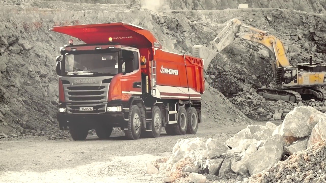 KH-KIPPER│Scania 8x4 W1MV mining tipping body