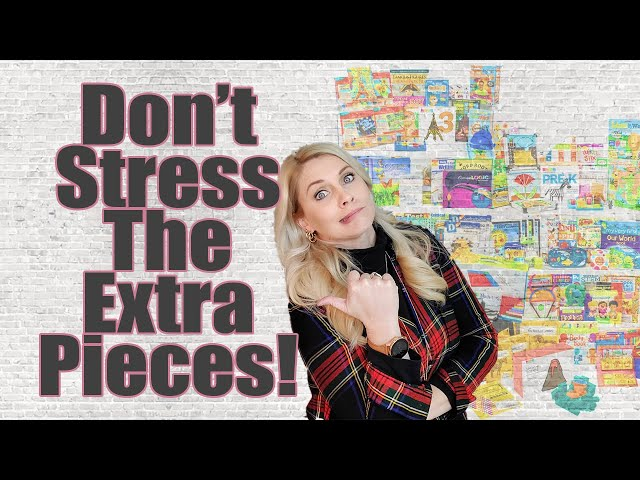 DONT STRESS THE EXTRA PIECES | CURRICULUM IS A TOOL | Kit and Curriculum Extra Pieces Fun Stuff