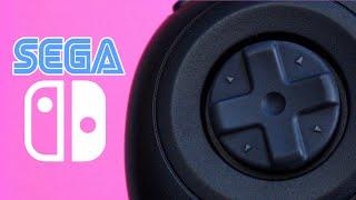 The Sega Nintendo Switch Controller