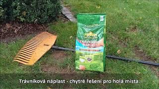 """Floria Trávníková náplast 3v1 - chytré řešení pro """"holá"""" místa v trávníku"""