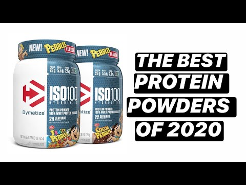 Best Protein Powders of 2020!