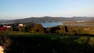 Punkt  widokowy  w  Polanczyku  .  Widok  na  cala  okolice oraz gory .