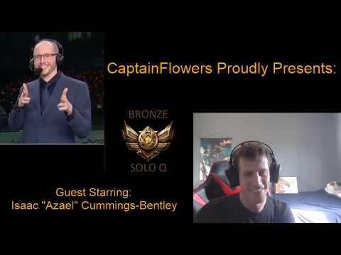 CaptainFlowers22 casting SoloQ Bronze Games - Full VOD