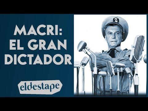 Macri: el gran dictador   El Destape con Roberto Navarro EN VIVO