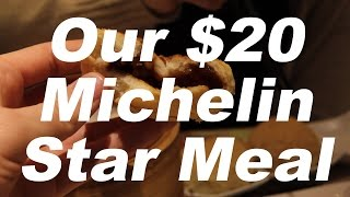 A Michelin Star Meal for 2 - only $20!