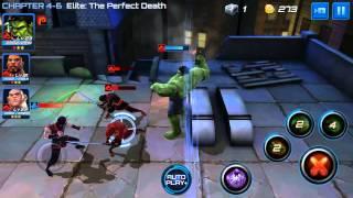 marvel future fight power team hulk luke cage kingpin