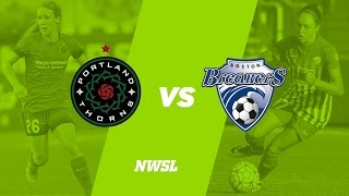 Portland Thorns vs Boston Breakers full match