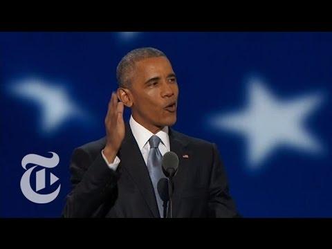 President Obama Hails Hillary Clinton as Political Heir | The New York Times