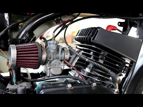 How to install performance air filter | Yamaha Rx 100 | Two wheeler