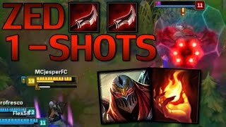 League of Legends | Zed Mid | Full gameplay